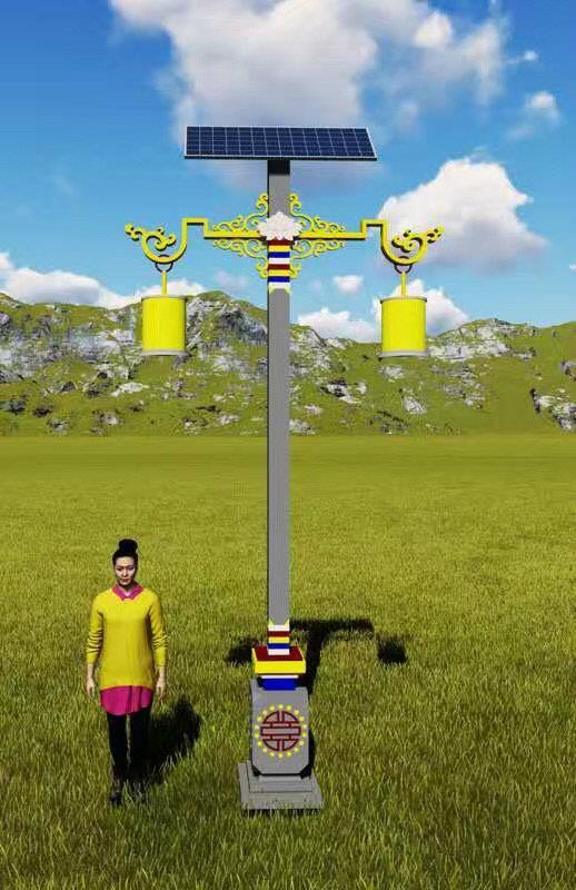 方城6米太阳能路灯欢迎咨询